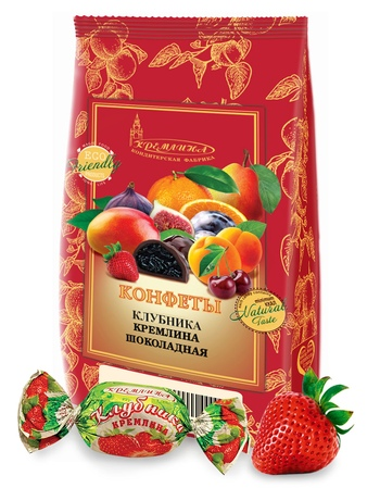 KREMLINA chocolate strawberry 190g