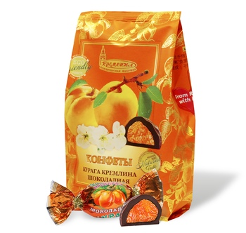 KREMLINA chocolate dried apricots, 190g