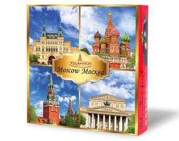Sweets with views of MOSCOW, 230g