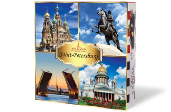 Casual Saint-Petersburg. Assorted sweets 230g.