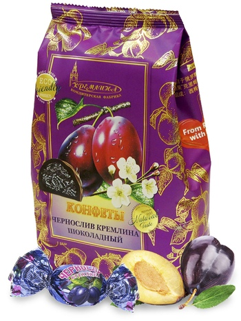 KREMLINA chocolate prune 190g