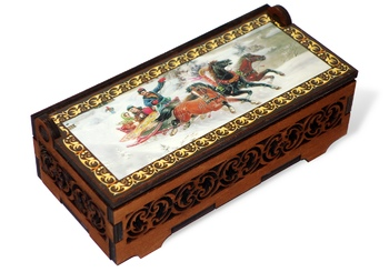 Candies in a jewelry box, 130g